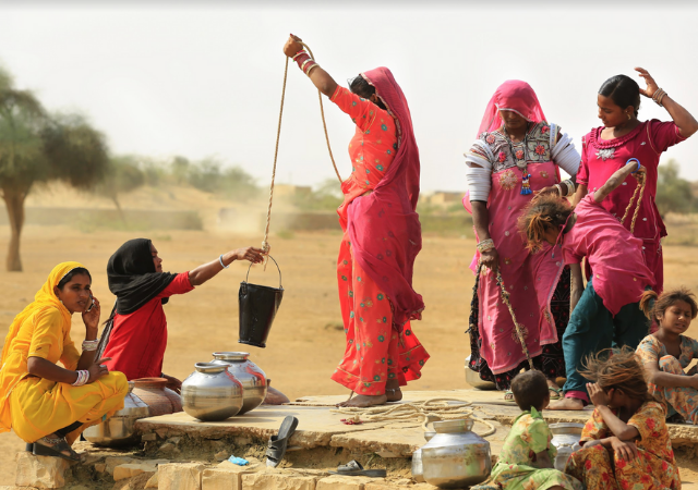 Integration of women in India's WASH