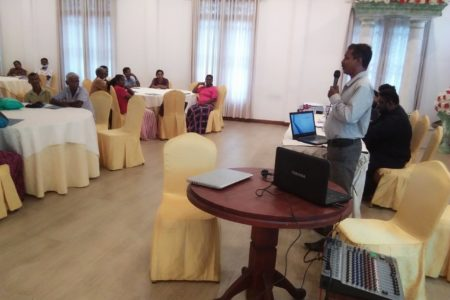 Capacity building on water resources management