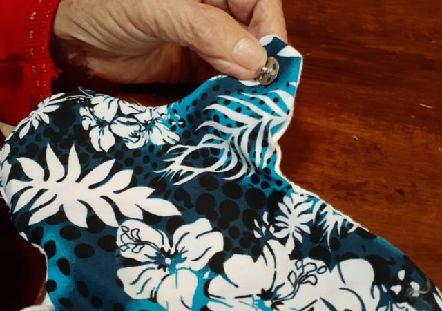 Developing reusable sanitary pads for marginalized and